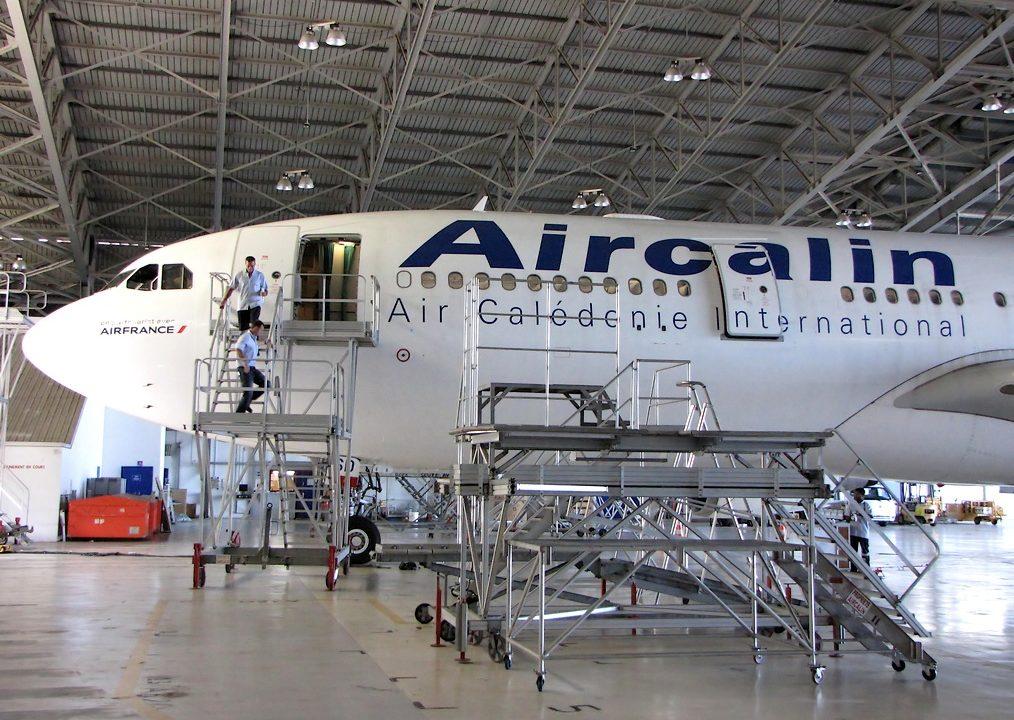 Dans les coulisses de la maintenance d'Aircalin