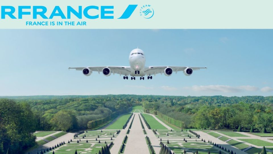 """Air France Expo """"France is in the Air"""""""