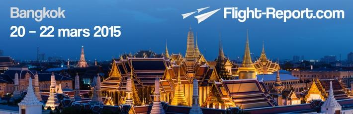 Voyage Flight-Report: Bangkok 20 – 22 mars 2015