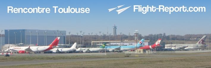 Choix de la date: Rencontre Flight-Report à Toulouse