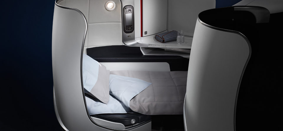 """Infographic – Study on the flying public's response to Air France's new """"Best & Beyond"""" cabins"""