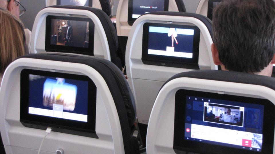 Infographie #2 – Etude sur le confort et sur l'IFE des nouvelles cabines BEST Air France