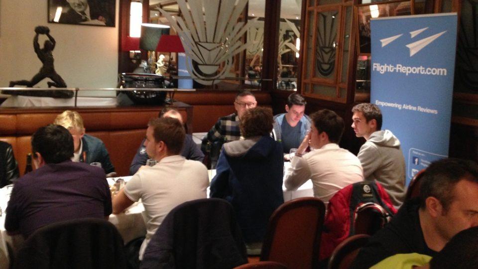 Diner Paris   5 ans de Flight-Report – 28 avril 2016