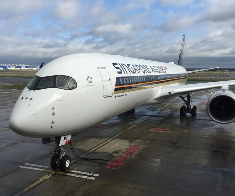 Livraison du premier A350 de Singapore Airlines : visite des cabines