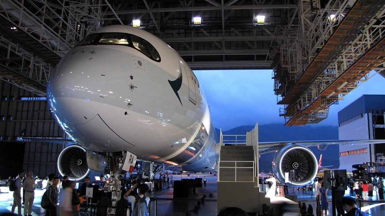 A la découverte de l'A350 Cathay Pacific
