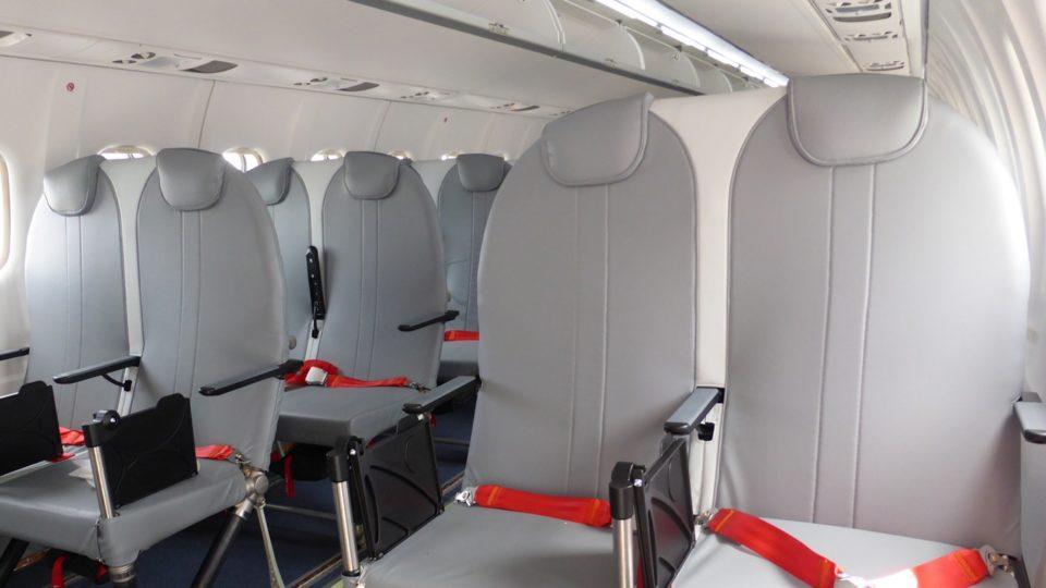 Air Tahiti : compagnie de lancement du Titanium Seat d'Expliseat en version ATR