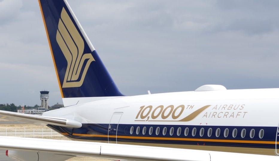 Airbus fête la livraison de son 10 000 ème appareil