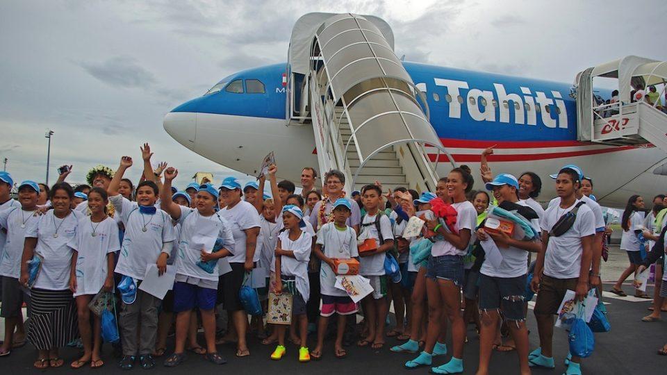 Air Tahiti Nui : le voyage du coeur