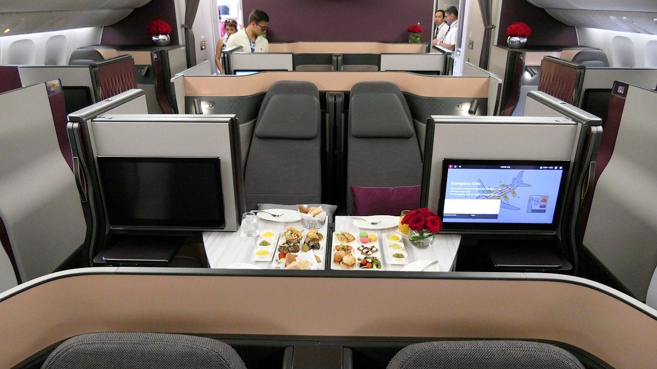 SIAE17 – Jour 2 : Qatar Airways présente sa nouvelle Business Qsuite