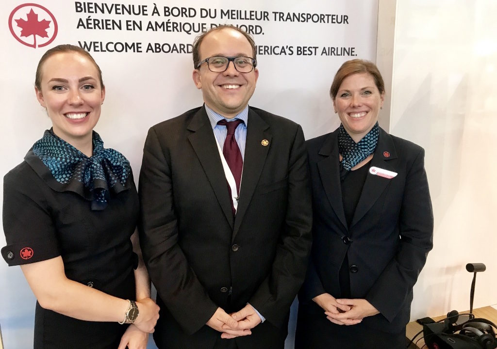 Interview: David Gégot, Directeur France d'Air Canada