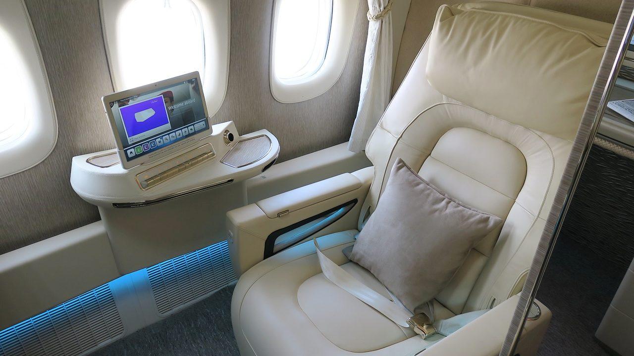 Emirates dévoile sa nouvelle First Class