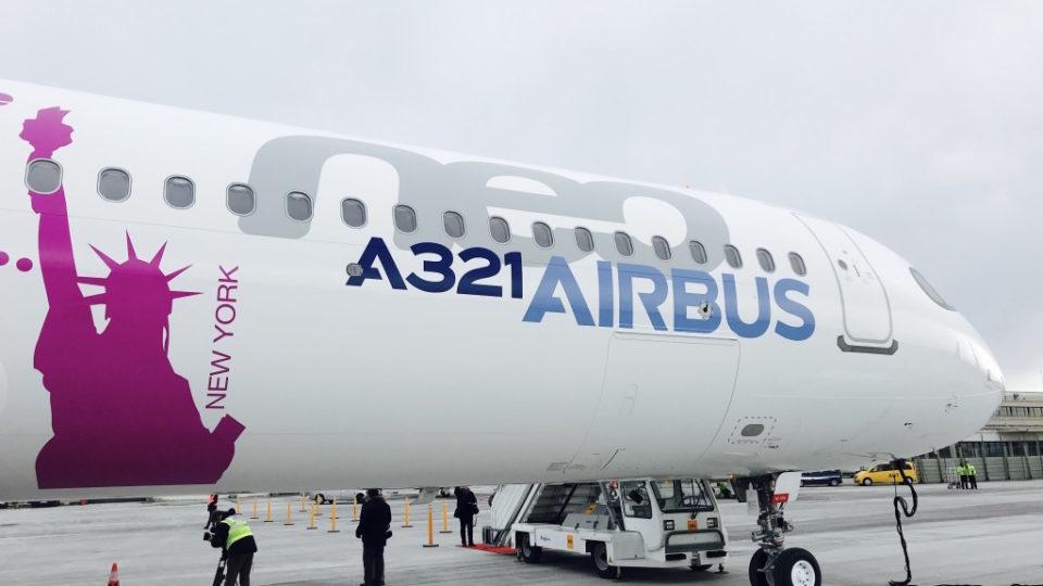 Premier Vol transatlantique pour l'A321neo LR