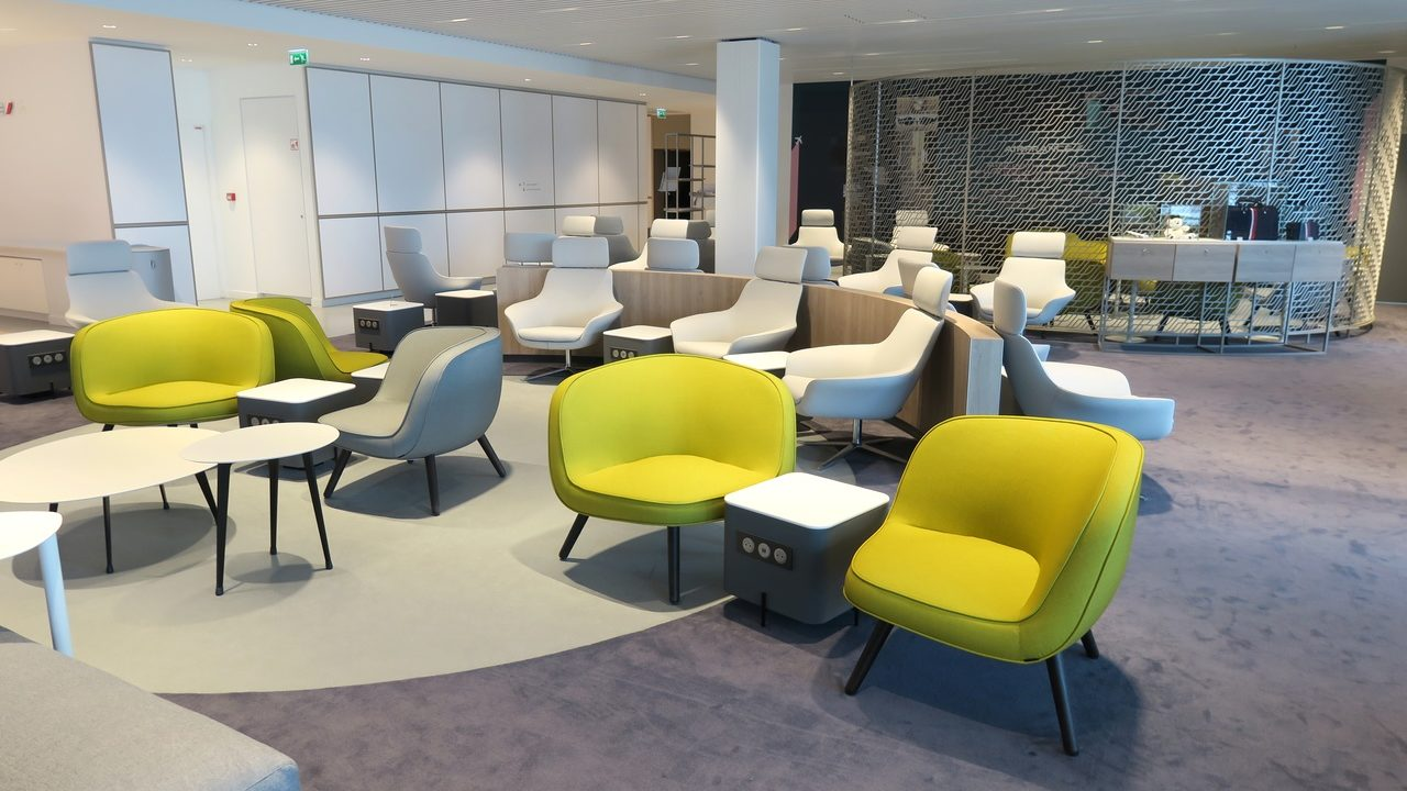 Un nouveau salon Air France plein de surprises au Hall L de Charles de Gaulle