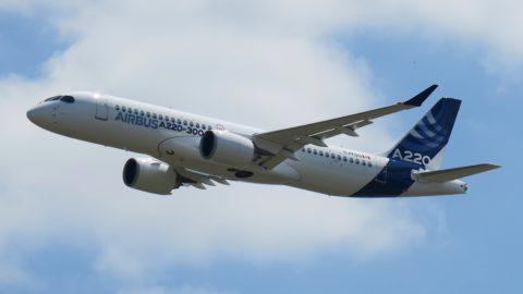 Le CSeries laisse sa place à l'Airbus A220