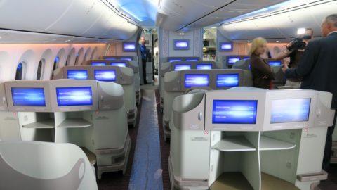A bord du futur Dreamliner de Biman Bangladesh