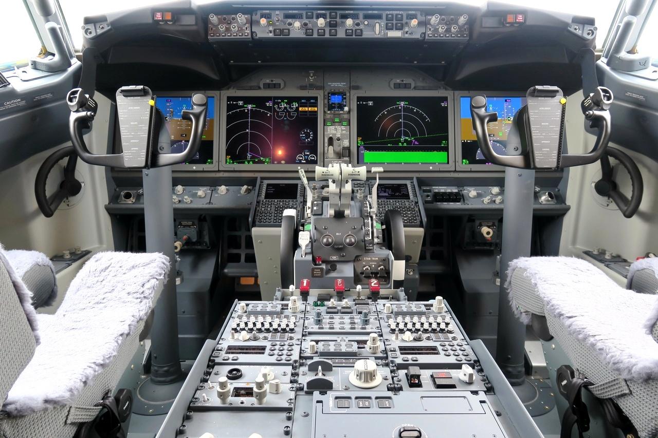 Cockpit 737 MAX 8