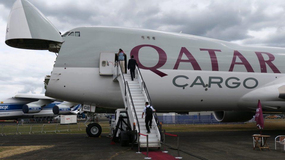 La reine du fret chez Qatar Airways Cargo