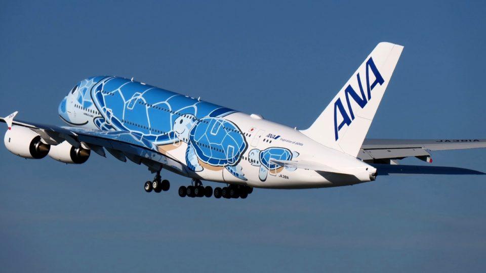 All Nippon Airways prend livraison de son premier Airbus A380 «Flying Honu»