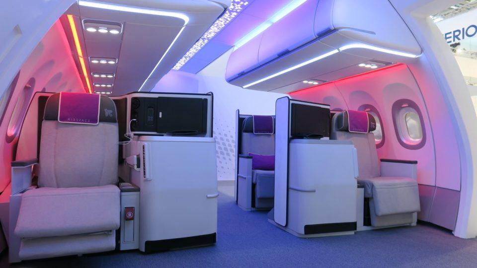 Airspace d'Airbus face au 777X de Boeing