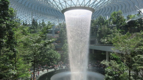Cascade, jardin et terminal: Jewel Changi Airport
