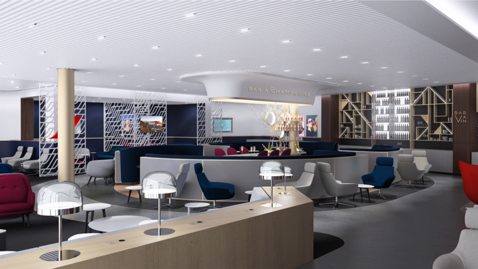 Exclusif : Le futur salon International d'Air France à Orly