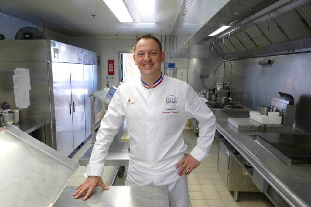 Rencontre avec François Adamski, Corporate Chef Servair
