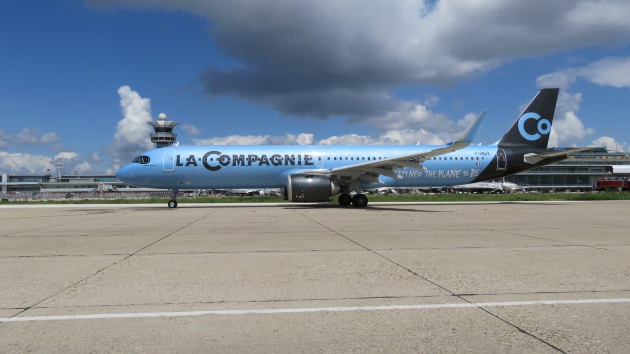 La Compagnie présente son nouvel Airbus A321neo