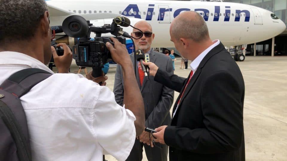 1er Airbus A330neo Aircalin et rencontre avec Didier Tappero