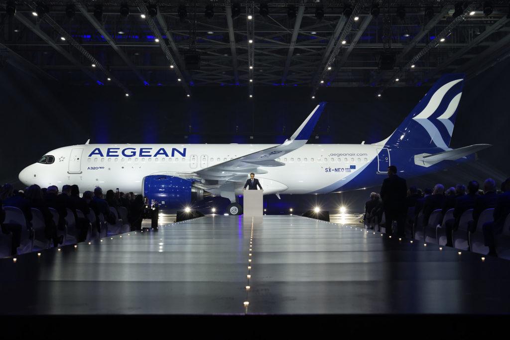 Sx-neo airbus A320neo Aegean