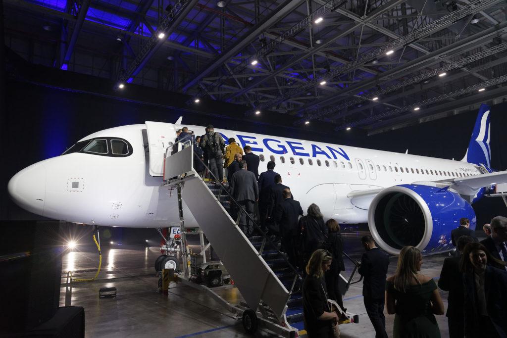 Aegean A320neo paris