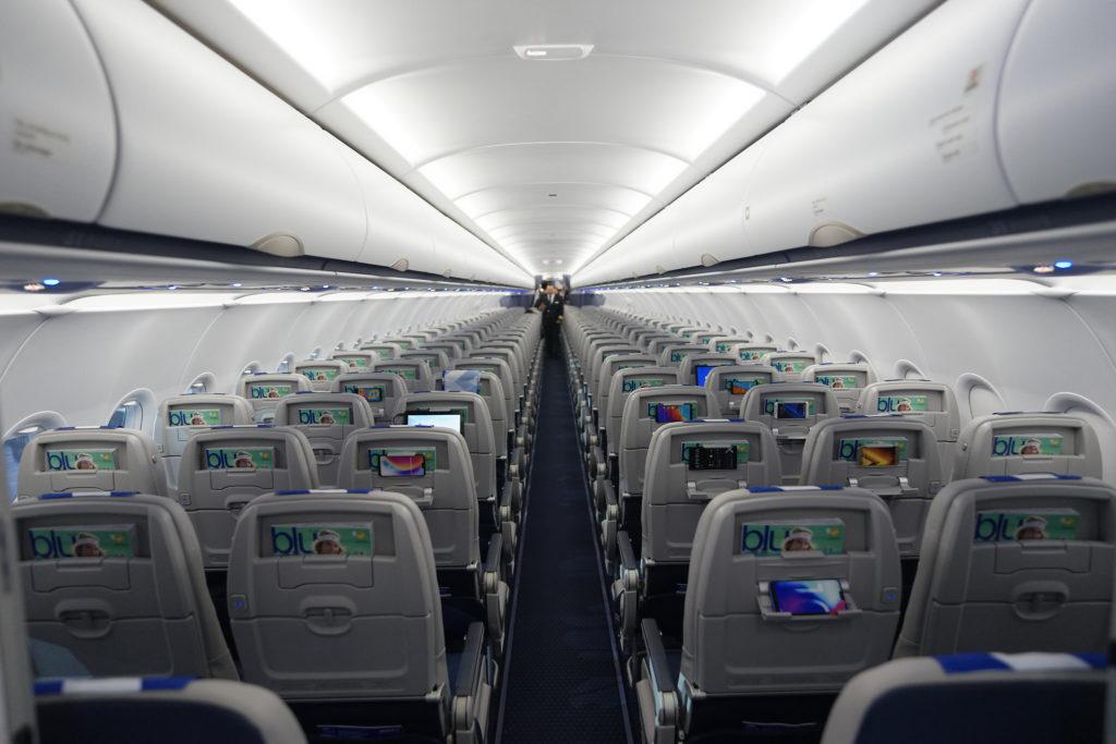 Cabine Aegean A320neo