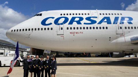 Corsair salue le départ du dernier Boeing 747 français