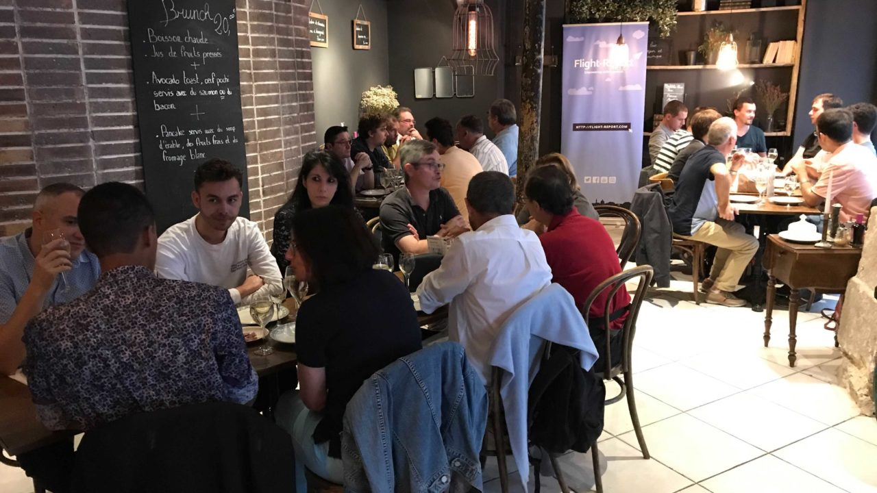 Diner Flight-Report – Samedi 3 Juillet – Paris